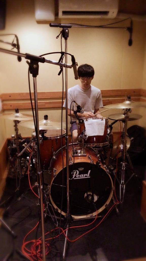 Nakanoまるドラムレコーディング